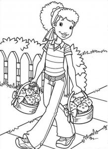 Tanzania Coloring Pages - Africa Coloring Pages Holly Hobbie Free Printable Coloring Pages No 23 14g
