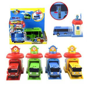 Tayo the Little Bus Coloring Pages - Kidami the Little Bus Model Tayo Kids Miniature toys Plastic Korean Cartoon Tayo Bus toys for Children toddler Birthday T In Diecasts & toy Vehicles 10b