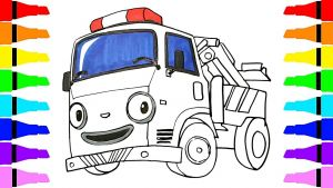 Tayo the Little Bus Coloring Pages - Stunning Idea Tayo Coloring Pages How to Draw the Little Bus toto Rani Roi for Kids Children 6q