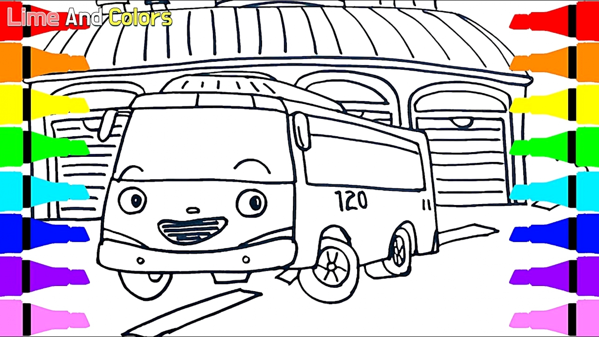 28 Tayo The Little Bus Coloring Pages Collection Coloring Sheets