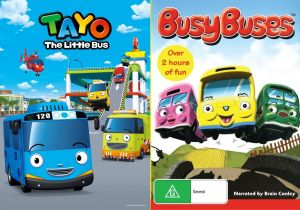 Tayo the Little Bus Coloring Pages - Tayo and Busy Buses 7q