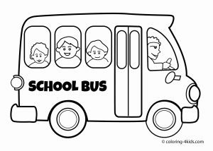 Tayo the Little Bus Coloring Pages - School Bus Coloring Page Elegant School Bus Coloring Page Heathermarxgallery 2f