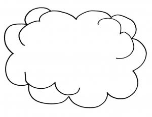 Temptation Of Jesus Coloring Pages for Kids - Cloud Coloring Pages to Print 14j