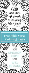 Temptation Of Jesus Coloring Pages for Kids - Free Printable Bible Verse Coloring Pages with Bursting Blossoms 8f