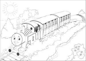 Train Coloring Pages for toddlers - toddlers Letramac Thomas Train Coloring Pages Printable Coloring Pages Thomas the Train Beautiful Amazing Thomas Train 4d