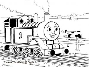 Train Coloring Pages for toddlers - Thomas the Train Coloring Page 5m