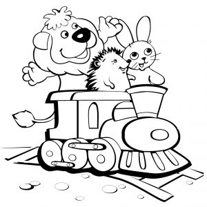 Train Coloring Pages for toddlers - Simple Train Coloring Page Train Coloring Pages for toddlers Inspirational Train Drawing for 11f