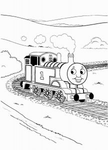 Train Coloring Pages Printable Free - Thomas Coloring Pages 10f