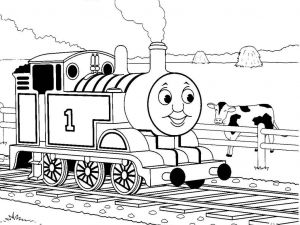 Train Coloring Pages Printable Free - Thomas the Tank Engine Coloring Pages to and Print for Free 7j