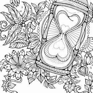 Tree Coloring Pages - Santa and Christmas Tree Coloring Page 16j