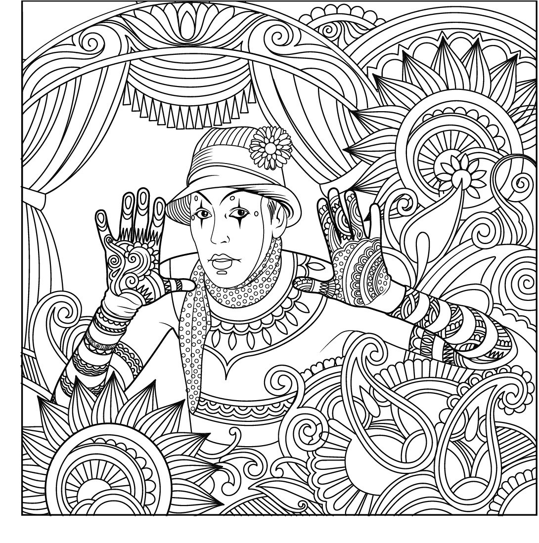 turn pictures into coloring pages for free 8i