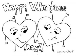 Valentine Day Coloring Pages - St Valentines Day Coloring Page to Printprintablecoloring Pages 11k