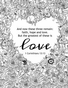 Valentine Day Coloring Pages - Christian Valentines Day Coloring Pages Printable God is Love Coloring Pages Itsamansworld God is Love Coloring Page 14h