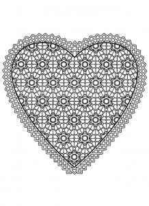 Valentines Day Hearts Coloring Pages - Inspiration Fresh Coloring Pages Hearts Colouring Pages Hearts 125 Best Valentines Day Coloring 15h