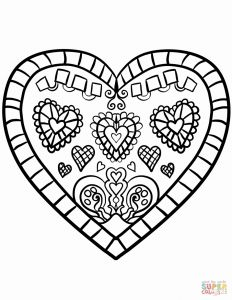 Valentines Day Hearts Coloring Pages - Coloring Pages Love Hearts Unique Love Heart Colouring Pages 7 Love Heart Coloring Pages 10j