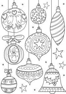 Vintage Christmas Coloring Pages - the Ultimate Roundup Of Free Christmas Colouring Pages for Adults and Teens Over 50 Free Festive Free Printables 33 Christmas Baubles 2d
