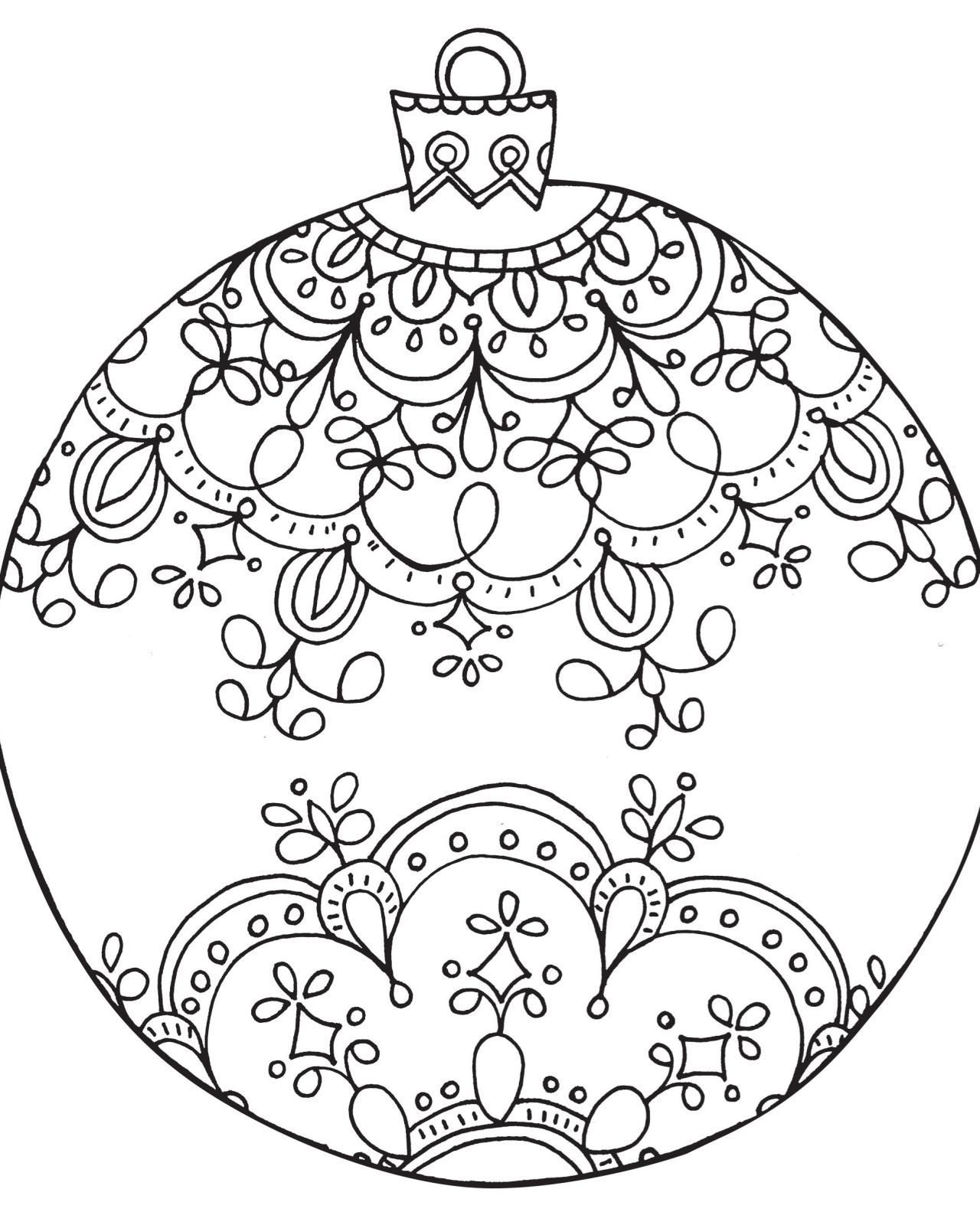 graphic about Christmas Coloring Pages for Adults Printable titled 26 Basic Xmas Coloring Webpages Range - Coloring Sheets