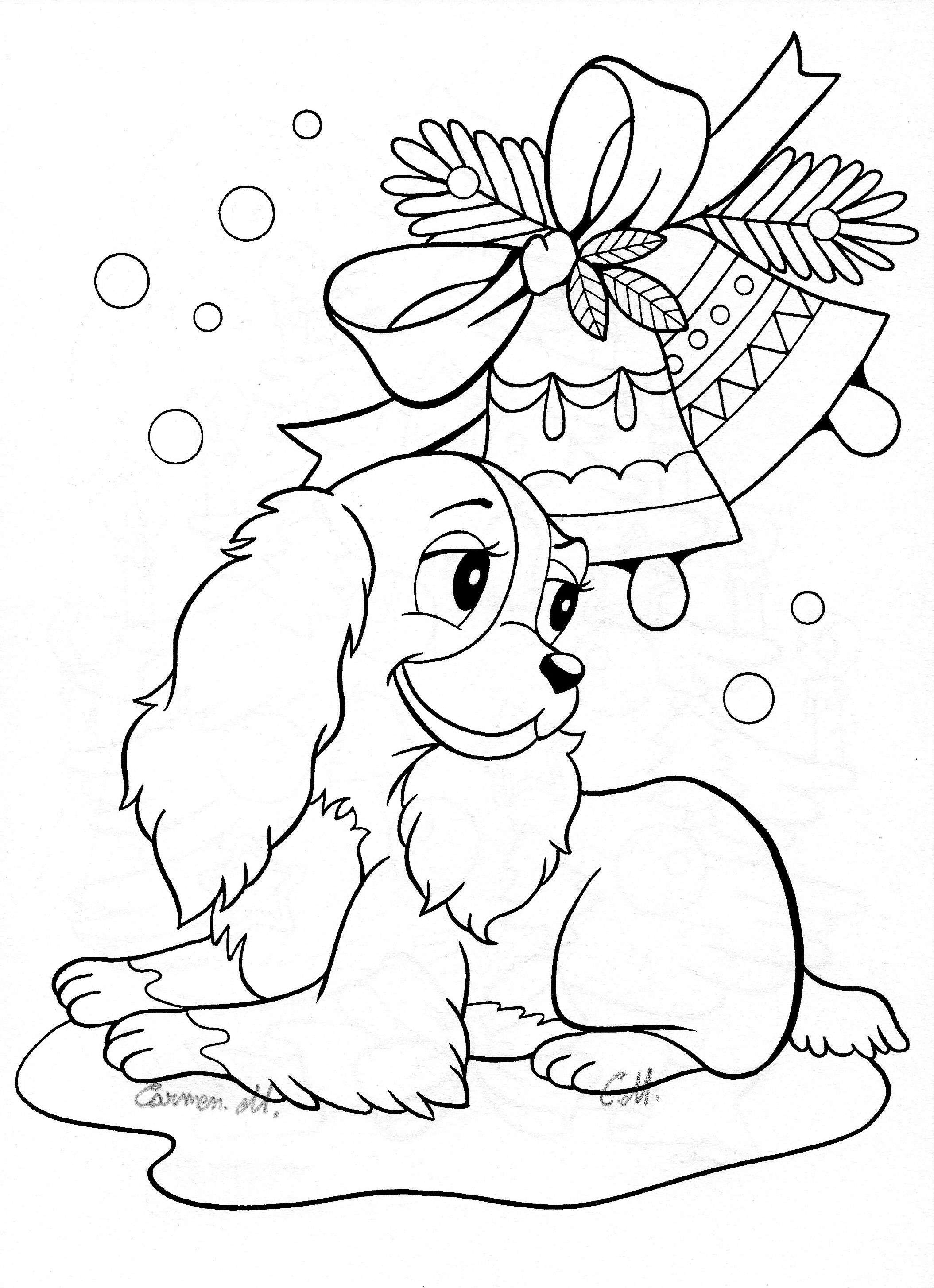 vintage christmas coloring pages Collection-50 Merry Christmas Colouring Pages Printable 12-n