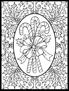 Vintage Christmas Coloring Pages - Free Printable Christmas Adult Coloring Pages Christmas Printable 8g