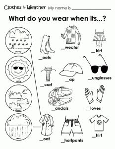 Weather Map Coloring Pages - Free Coloring Pages Clothing Worksheet Weather Coloring Sheets for Kindergarten Weather Coloring Sheets for Kindergarten 9m