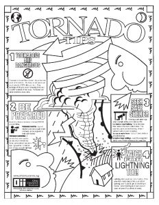 Weather Map Coloring Pages - Free Printable Safety Coloring Pages Free Printable Safety Coloring Pages Inspirational New Weather 8b