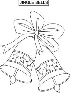 Webkinz Coloring Pages - Christmas Bells Coloring Pages Bells 18a