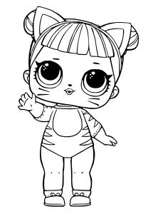 Winged Cat Coloring Pages - Lol Dolls Coloring Pages Printables 9l