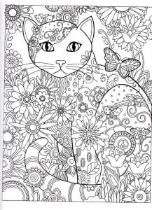 Winged Cat Coloring Pages - Advanced Coloring Pages to Print with Advanced Coloring Pages to Print 20a