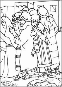 Zacchaeus Coloring Pages for Preschoolers - Bible Coloring Pages Pdf Elegant Zacchaeus Coloring Pages for Preschoolers to Print 6d