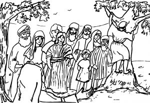 Zacchaeus Coloring Pages for Preschoolers - Zacchaeus Coloring Pages Printable 2 Coloringstar 18k