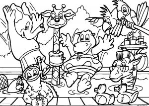 Zoo Animals Printable Coloring Pages - Best Of Zoo Animals Coloring Sheet Collection 1j All Animals Coloring Pages and Print for 8b